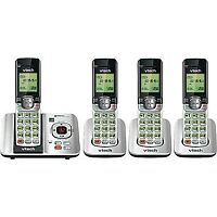 4-Handset Cordless Phone with Answering System