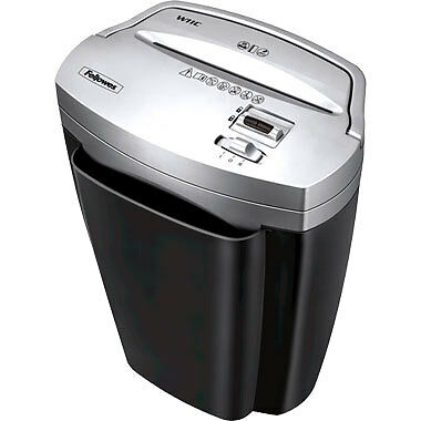 New Fellowes Powershred W-11c Deskside Cross Cut Paper Shredder - Free Shipping