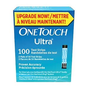 One Touch Ultra Blue Strips for Blood Sugar Test -- exp Apr 2019