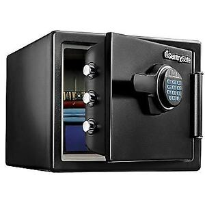 Sentry® Safe SFW082F Water-Resistant Fire Security Safe NEW