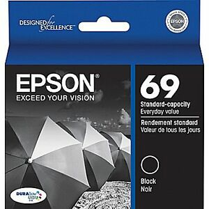 Epson Black #69 Ink Cartridge New in Box