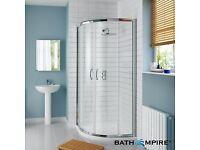 1200 x 900 quadrant shower tray and enclosure BRAND NEW