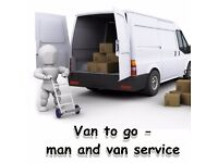 Man with a van - collections, deliveries, small removals.