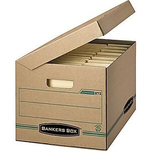 LOOKING  FOR  BANKER'S  FILE  BOXES