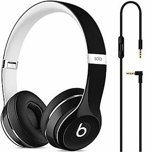 Beats Solo2 On-Ear Headphones, Luxe Edition Noir , Bleu Neuve