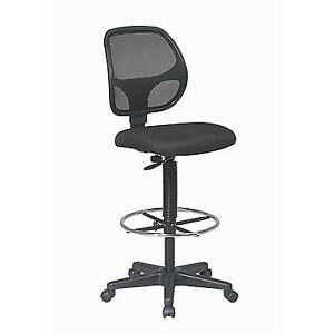 Deluxe Mesh Back Drafting Chair with Mesh Seat
