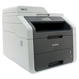 Brother Laser Printer with 4x new toner packs (C,Y,M,B)