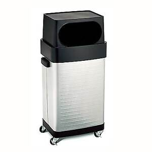 Ultra Heavy-Duty Commercial Stainless Steel Trash Can, 17-Gallon
