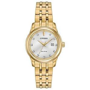 Citizen Womens PAIRS Quartz Stainless Steel Casual Watch, Col  EW2392-54A