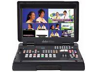 Datavideo HS-1200 HD 6 Channel Portable Video Production Studio / Mixer
