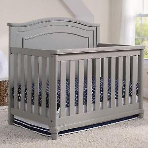Simmons Kids Belmont All-in One Convertible Crib (Convertible rails included) NEW ** 5 CORNERS FURNITURE **