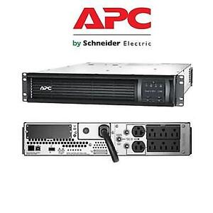 NEW APC RACK MOUNTABLE SMART UPS SMT2200R2X106 213309414 2200VA LCD RM 2U 120V