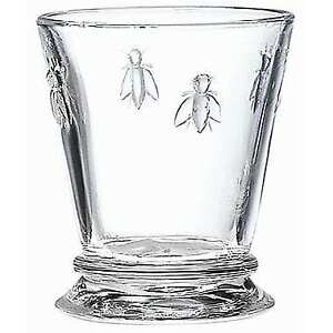 BRAND NEW FRENCH AUTHENTIC BEE GLASSES NEW IN BOX 6PC