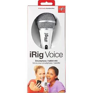 iRig Voice microphone!