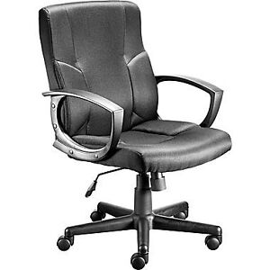 Great Deal on our Stiner Black Fabric Office Chair