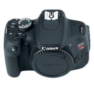 Canon T3i Body two batteries and charger.
