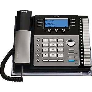 RCA - Système téléphonique à 4 lignes expansible 25424RE1