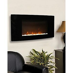 Paramount Barcelona Wall Mount Electric Fireplace