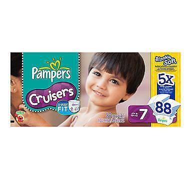 Pampers Cruisers Size 7 Ebay