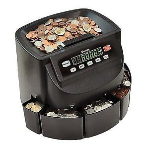 New Cassida® C200 Coin Counter/Sorter/Wrapper PU2