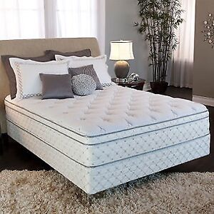"""New 3"""" Euro Top Queen Bed $599 (Two Left)"""