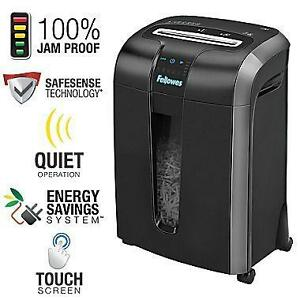 Fellowes Powershred 73Ci 12-Sheet Cross-Cut Personal Shredder