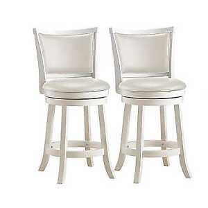Woodgrove Counter Height Bar Stool - Set of 2 - White New in Box