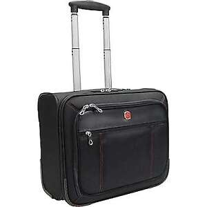 """Swiss Army Wheeled Business Case Fits 15.6"""" Laptop Computer"""