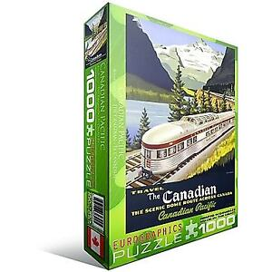 CP Rail The Canadian Puzzle, 1000 Pieces  Eurographics.