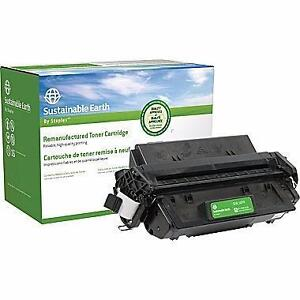 L50 (SEBL50PR) Canon yield of 5,000 pages Sustainable Earth by Staples Reman Black Toner Cartridge Canon