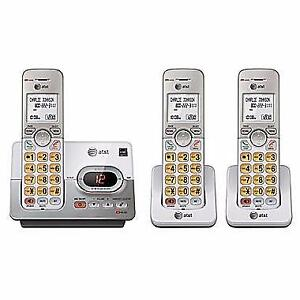 AT&T 3-Handset Cordless Phone with Digital Answering System (EL52303)