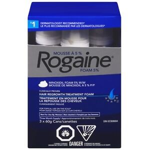 Rogaine hair lost for 3 months brand new sealed