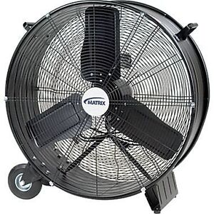"Matrix EA286 28-Inch Industrial Grade Drum Fan 28"" Commercial"