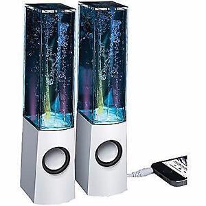 Merkury Innovations Rhythm Dancing Water Speakers