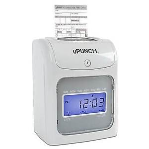 uPunch Electronic Calculating Punch Card Time Clock (HN4000
