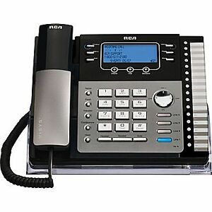 (NEW PRICE) Four 4 line RCA small business phones