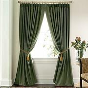 Pinch Pleated Thermal Drapes