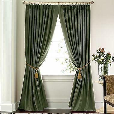 Pinch Pleated Thermal Drapes Ebay