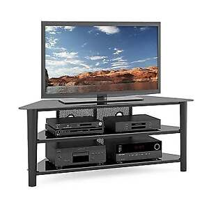 Corliving Tal-604-T Alturas Wood Veneer TV Stand