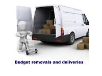 Man and van - Budget removals and deliveries