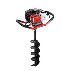 HOC EA52 GAS POWERED EARTH AUGER + 6 INCH BIT + FREE SHIPPING + 90 DAY WARRANTY