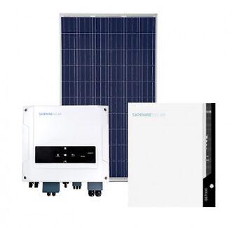 6.48kW Battery Ready Hybrid Solar System