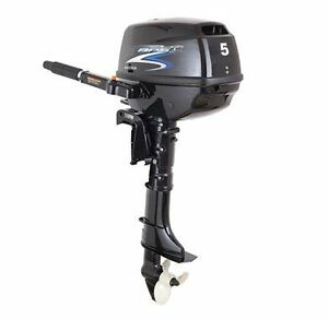 "APS outboard 5HP 17.5"" shaft"