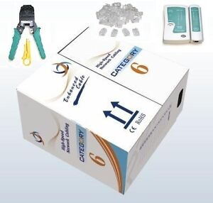 1000-Ft-CAT6-UTP-LAN-Network-Cable-Network-Tool-Kit