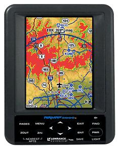 GPS Lowrance avionics