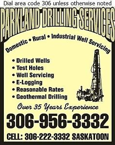 Water wells drilled and serviced Regina Regina Area image 1