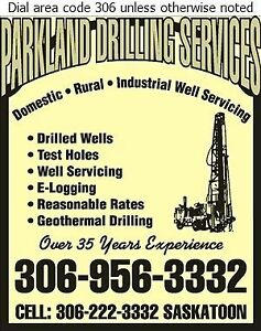 Water wells drilled and serviced Moose Jaw Regina Area image 1