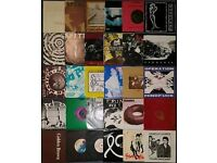 "Punk, hardcore 7""singles record collection, all graded"