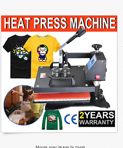 8 in1 Heat Press Machine Printing Transfer Sublimation T-Shirt