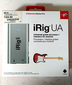 iRig UA Guitar Interface for Android